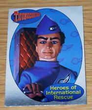 Thunderbirds Trading Card Set Foil Chase Card F6 Scott Tracy Cards Inc 2001