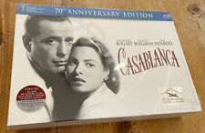 Casablanca 70Th Anniversary Limited Edition Gift Set Blu Ray & Dvd Disc Set New