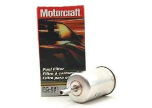 NEW Motorcraft Fuel Filter FG-881 Ford Thunderbird Cougar 91-97 Mark VIII 92-98
