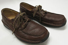Red Wings Oxford 9 B Narrow Brown Pebbled Leather Mens Boat Deck Shoes 4050