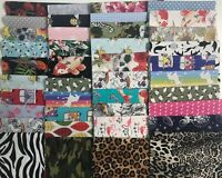 FACE MASK FABRIC PACK 18 PIECES ENOUGH FOR 9 REVERSABLE MASKS PATCHWORK QUILTS