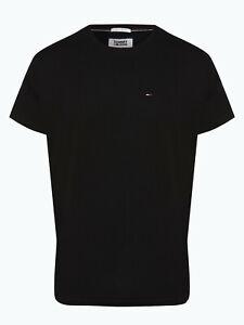 Tommy Hilfiger T-Shirt Herren Tshirt Kurzarm Schwarz Blau Grau Weiß S - XXL Neu