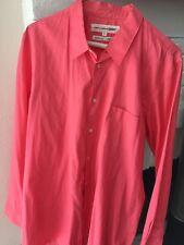 Comme Des Garçons Shirt Hot Pink Fuschia Size L.