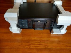 Nakamichi RX-505 Cassette Tape Deck Recorder in Box with Manual, Receipt