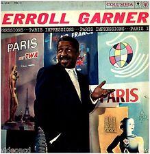 ERROLL GARNER Paris Imperssions Vol. 1 COLUMBIA MONO (6 EYE) CL 1212 LP RECORD