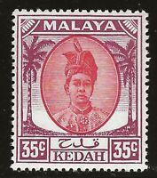 Malaya - Kedah  (1950)  - Scott # 76,   MNH