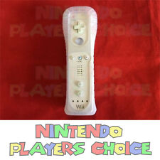 Genuine Official Wii Remote White + Silicone Case Preowned Nintendo OEM
