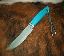 CPM S125V STAINLESS SUPERSTEEL HANDMADE HUNTING KNIFE,SKINNER, 65 HRC, MICARTA