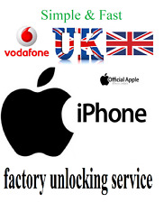 Vodafone UK Unlocking Service Unlock Apple iPhone 12 11 XS X SE XR 8 7 6s 6 5s 5
