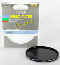 Hoya HMC 62mm ND-8 (0.9) Multi-Coated Neutral Density Filter A-62ND8-GB