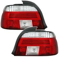 Klarglas Rückleuchten BMW E39 VFL Limo. klar/rot mit Lichtleittechnik >Bj. 08/00
