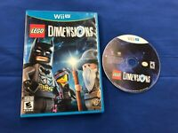 Lego Dimensions for Nintendo Wii U Game Disc + Box only