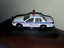 Paterson Police NJ 1:24 Scale Ford Crown Victoria Police Car, Unit 101X - Custom