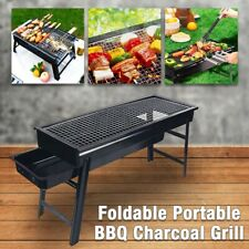 Portable & Foldable Charcoal BBQ Grill Hibachi Outdoor Camping Picnic Barbecue