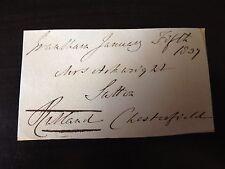 JOHN MANNERS - DUKE OF RUTLAND - LAND & RACEHORSE OWNER - SIGNED ENVELOPE FRONT