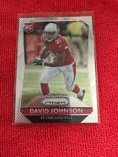 David Johnson Rookie Card 2015 Panini Prizm #224 Arizona Cardinals RC