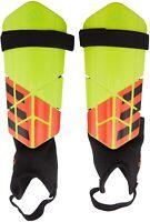 adidas 186378 Unisex Kids Shin Guards Equipment Yellow/Red/Black Size Large