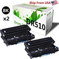 2PK DR-510 DR510 Drum Unit for Brother HL-1250 HL-1270 HL-1435