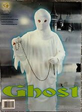 CARNEVALE HALLOWEEN VESTITO FANTASMA DRESS GHOST TAGLIA UNICA ADULTO
