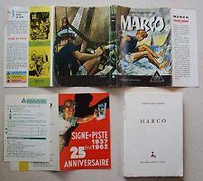 Marco P A BERNARD   JOUBERT éd Signe de Piste éd Alsatia 1962 + PUB RARETE 2aedf5304ad