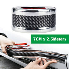 2.5 Meter Car Door Sill Scuff  Welcome Pedal Protect Mat Bumper Fender Cover