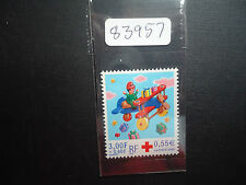 France 2000 Red Cross Fund New Year (1v) (SG 3694) Mounted Mint