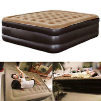 Outdoor Bedroom Lounger Airbed Inflatable Pull-Out Sofa Double Air Bed Mattress