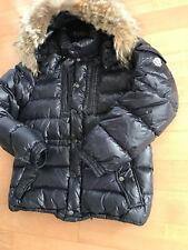 Original MONCLER Herren Daunenjacke ROD Echtfell Gr. 3 L Kapuze abnehmbar Jacket