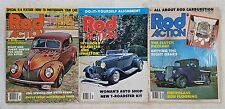 Street Rod Action Magazine 1979 - Lot of 3 -  Hot Rods & Customs