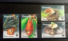 BATS ANIMAL VANUATU VF Stamps Set Mint MNH