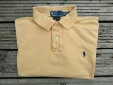 Ralph Lauren Polo Shirt  Custom Fit Large Yellow. Good condition