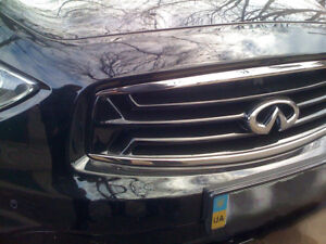 Front bumper GRILLE for INFINITI FX 35/37/50 (2008 - 2011 2g before restyling)