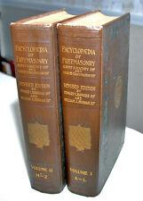 FREEMASON OCCULT MASONIC KNIGHTS TEMPLAR ROSICRUCIAN - Two Volumes - Books Book