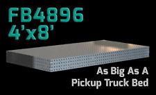 CertiFlat FB4896 4'X8' FabBlock Welding Table Top Kit. Modular Welding Table DIY