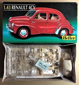 HELLER 80174 - RENAULT 4CV - 1/43 PLASTIC KIT