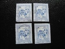 VATICAN - timbre yvert et tellier n° 1124 x4 obl (A28) stamp