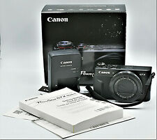 Canon PowerShot G7 X Mark II 20.1 MP Digital Camera - Black In Box W Manuals