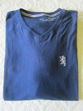NWT $46 English Laundry Lion Crest V Neck T Shirt 100% Cotton Sz 5X