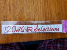 Jukebox Rock-Ola 1454 High Fidelity 120 Decal Or Sticker