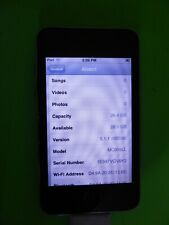 Apple iPod touch 3rd Generation Black (32 GB) Battery not 100% because of age