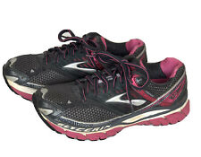 Brooks Glycerin 10 Gray Pink Women's Running Shoes Size 7.5 Lace Up