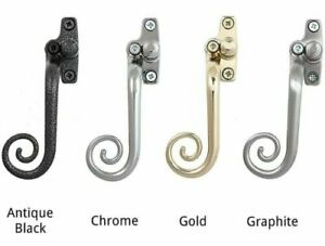 Monkey Tail Espag Window left handed Handle Casement Curly Crittall Metal uPVC