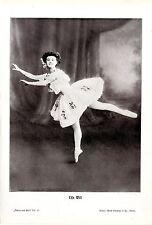 Die österreichische Ballett- Tänzerin Elsa Will (Elsa Wiesenthal) Kunstdruck1910