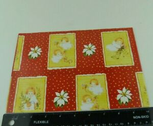 Vtg Wrapping Paper Gift Wrap OOP Christmas Happy Birthday Vintage