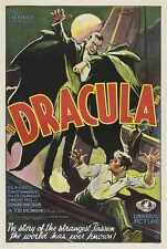 Dracula 1931 Poster 01 A4 10x8 Photo Print