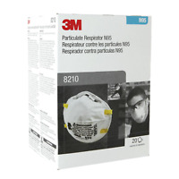 3 M Pack of 20 New Protective Mask N Grade 95 Never Opened 2025 FRESH !!