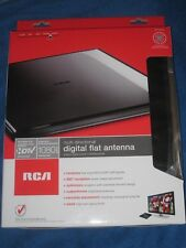 RCA ANT1600R Multi-Directional Digital Flat HDTV Indoor Antenna Gloss Black New!