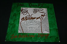 "The Doors ""Jim Morrison Dying"" Weird Tribute LP Record Hand Painted Cover RARE!"