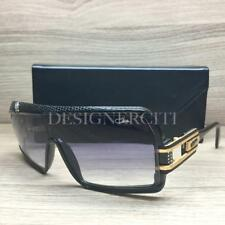 Cazal Leather Limited Edition 858 Sunglasses Black Gold 603 Authentic 61mm
