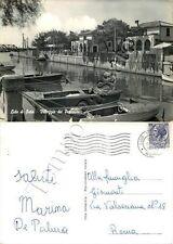 Cartolina di Ostia (Lido di Roma), Villaggio dei Pescatori - Roma, 1964